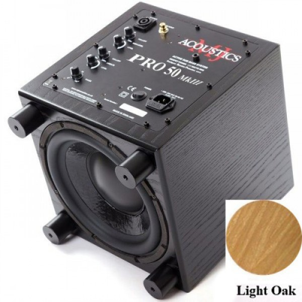 Сабвуфер MJ Acoustics Pro 50 Mk III Light Oak