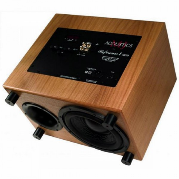 Сабвуфер MJ Acoustics Reference 1 MK3 Walnut