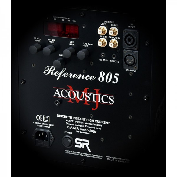 Сабвуфер MJ Acoustics Reference 805-FF SR Light Oak