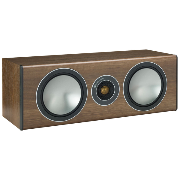 Акустика центрального канала Monitor Audio Bronze Centre walnut