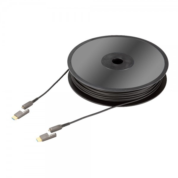 HDMI кабель In-Akustik Exzellenz Profi HDMI2.0 optical fiber cable 18Gbps, Typ D>A, 100.0 m, 0092431100