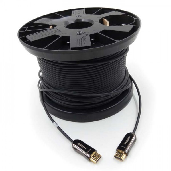 HDMI кабель In-Akustik Exzellenz HDMI 2.0 optical fiber cable 100.0 m, 009241100