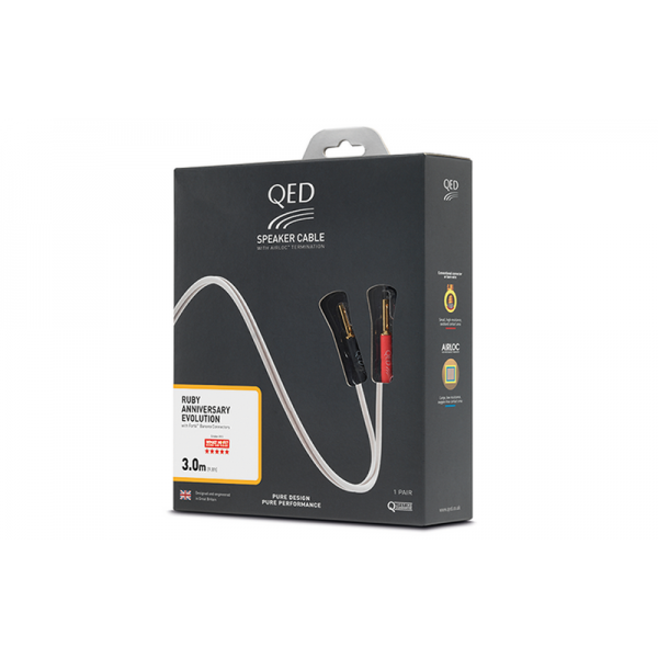 Акустический кабель QED RUBY ANN PRE-TERMINATED SPEAKER CABLE 3М